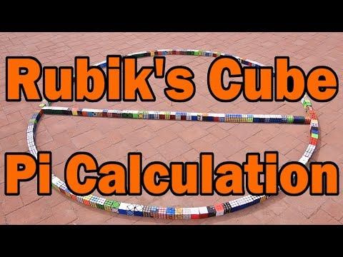 Pi Day 2019: Calculating Pi with Rubik's Cubes!