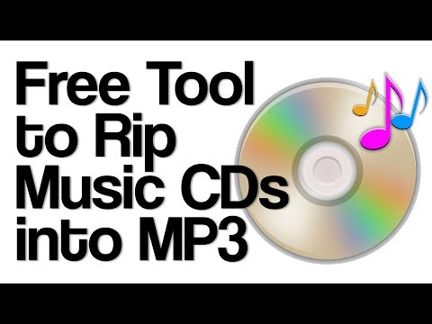 Convert music on CDs to MP3 - Rip using free BurningStudio