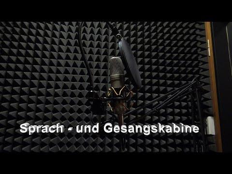 Gesangsraum Gesangskabine Sprecherkabine
