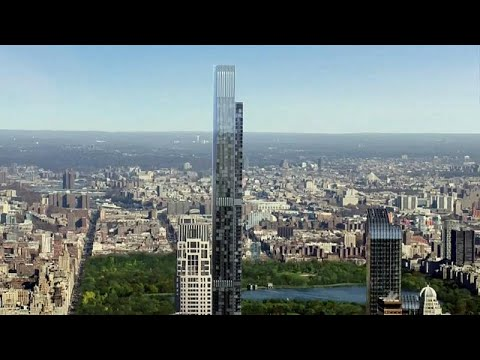 New York: »Central Park Tower«- das höchste Wohnhaus  ...