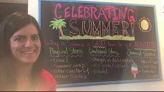 Denver, CO Pediatric Chiropractor Shares Why Summertime is a Great Time to Have Your Child Adjusted!