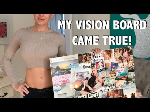 My Vision Board Worked! Goal Setting Tips and Why You Should Manifest Goals