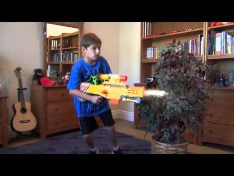 Nerf Guns VS Real Guns