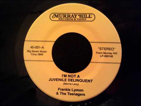 Tekst piosenki Frankie Lymon & The Teenagers - I'm Not A Juvenile Delinquent po polsku