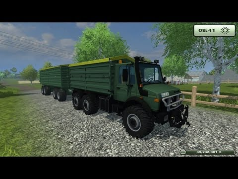 LS 13 MODS - UNIMOG 2450 6X6