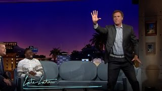 Will Ferrell and Kevin Hart Compare Basketball Skill Sets