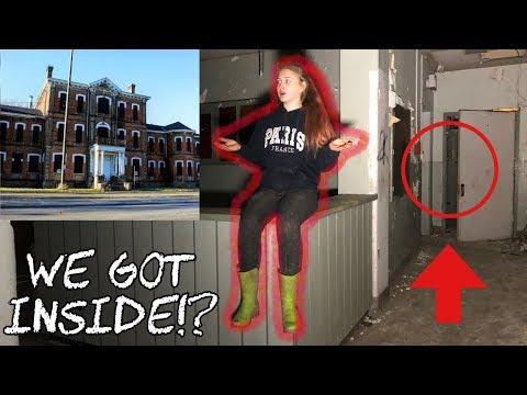 INSIDE CENTURY MANOR-Abandoned Insane Asylum! (Part 2)