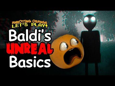 Video Baldi Unreal Basics [Annoying Orange Plays] download in MP3, 3GP, MP4, WEBM, AVI, FLV January 2017