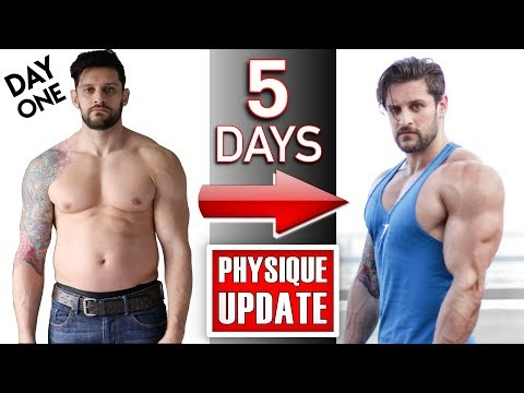 Diet plans - 7 DAY BODY TRANSFORMATION CHALLENGE  5 DAYS: Physique Update + How To GAIN SIZE (Lex Fitness)