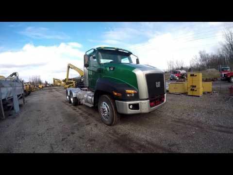 CATERPILLAR ON HIGHWAY TRUCKS CT660L equipment video FLIasb8dg0E