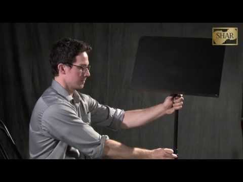 Video - Peak Music Stand Mini iPad Holder | SAIPM