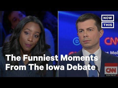 The Funniest Moments from the Iowa Democratic Debate | NowThis