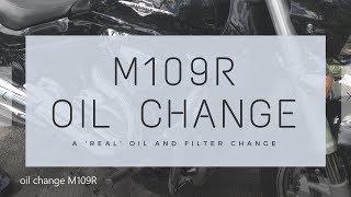 9. Oil Change Suzuki M109R - A 'REAL' Oil change Video