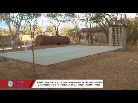 Rehabilitación de pila para almacenamiento de agua potable y distribución. Alcaldía de Ocotal