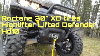 9. Roctane 30's STI  Tires Canam Defender Hd10!