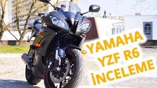 8. Yamaha YZF R6 İnceleme (2008)