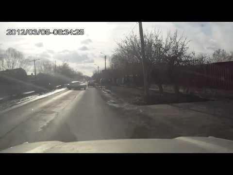 Авария в Шадринске 07 04 2014