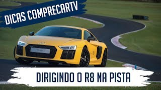 Dirigindo o R8 na pista - Audi Driving Experience