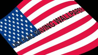 USA Flag 3D Live Wallpaper YouTube video