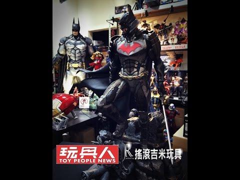 搖滾吉米玩具-XM STUDIOS 武士蝙蝠俠 1/4雕像 開箱介紹