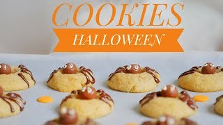 Video RECETTE HALLOWEEN | COOKIES ARAIGNÉES 🎃 MP3, 3GP, MP4, WEBM, AVI, FLV Oktober 2017