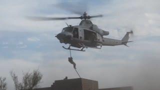 Yuma (AZ) United States  City pictures : U.S. Marine Corps Fast Rope Training Near Yuma, AZ