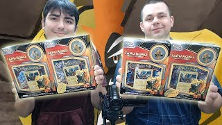 WHAT A PULL!! Opening Pokemon TCG Tapu Koko Pin Collection Boxes! by The Pokémon Evolutionaries