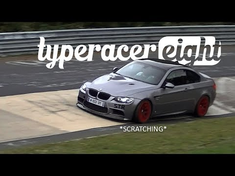 Bumper Scratching at the Nürburgring - Caroussel!