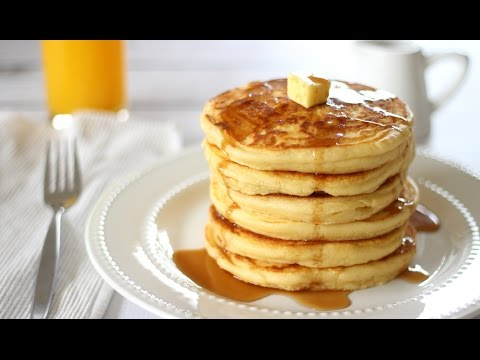How to make Pancakes | Fluffy Pancake Recipe