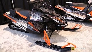 6. 2016 Arctic Cat Cross Trek XF 7000 Sled - Walkaround - 2015 St Hyacinthe ATV Show