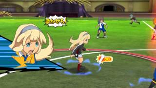 Inazuma Eleven Go Strikers 2013 Custom Teams #1: Pyro Paradox vs Metoer Eleven