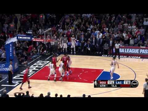 NBA Highlights: Rockets @ Clippers 1/18/2016