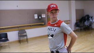 Interview: Dance major Zack Frongillo