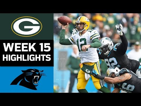 Packers vs. Panthers | NFL Week 15 Game Highlights (видео)