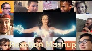 Video Wonder Woman 'Gotham' Sneak Peek REACTION MASHUP MP3, 3GP, MP4, WEBM, AVI, FLV Mei 2017