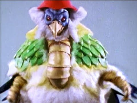 "Mighty Morphin Power Rangers - Dino Megazord vs Chunky Chicken | Episode 7 ""Big Sisters"""