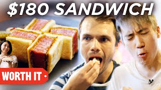 Video $6 Sandwich Vs. $180 Sandwich MP3, 3GP, MP4, WEBM, AVI, FLV Agustus 2019