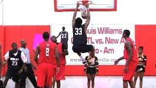 Trey Thompkins 2011 Lockout Highlights - Atlanta