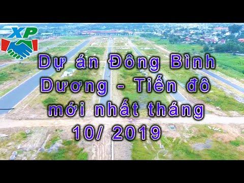 Dự án Đông Bình Dương - Tiến đô mới nhất tháng 10/ 2019