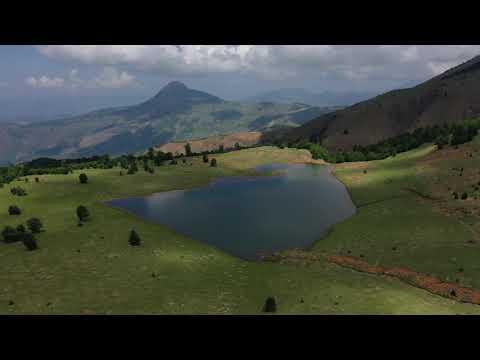 Liqeni Zi. Lenie. Gramsh. Albania