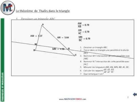 theoreme de thales 4eme}