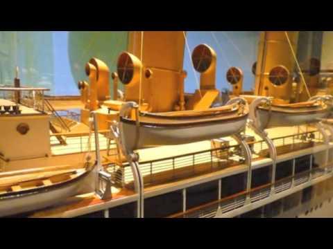 SS Orama 1924 Vickers Barrow Builders Model Orient Line