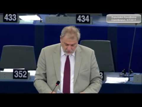 Νότης Μαριάς στην Ευρωβουλή: Να επιβληθούν άμεσα κυρώσεις κατά της Τουρκίας