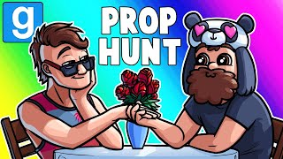 Gmod Prop Hunt Funny Moments - The Valentines Gas Station by Vanoss Gaming