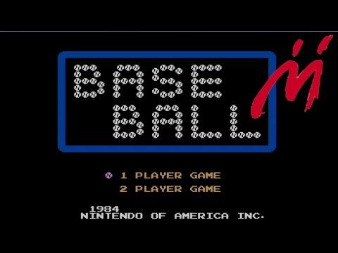 baseball nes game