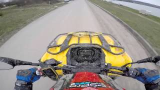 10. Can-Am Outlander 570l MAX 2016 TOP SPEED