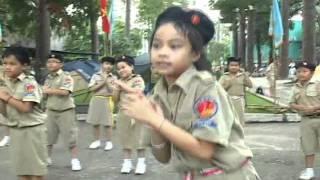 Múa dân vũ - Ba con gấu - Hàn Quốc