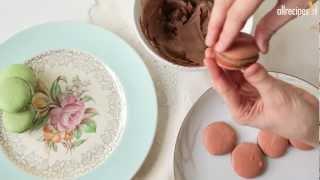 Franse makronen (macarons)