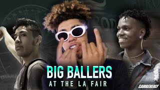 LaMelo Ball and Big Ballers TAKEOVER LA COUNTY FAIR! DC The Don, Will Pluma, + More