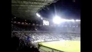 Torcida do cruzeiro 21/08/2013 Cruzeiro x Flamengo aquecimento